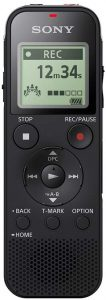 dictaphone Sony ICD-PX470